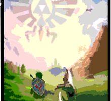 Link & Epona by jakobin