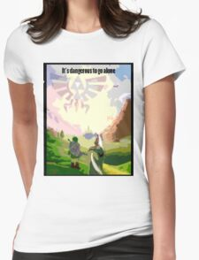 Link & Epona Womens Fitted T-Shirt