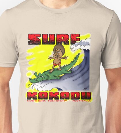 Surf Kakadu Unisex T-Shirt