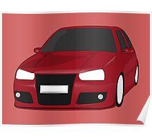 Volkswagen Golf 3 Poster