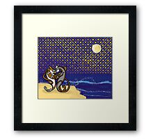 They Danced by the Light of the Moon Framed Print