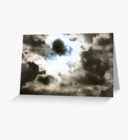 Is Thunder Coming? Greeting Card