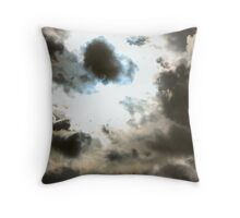 Is Thunder Coming? Throw Pillow
