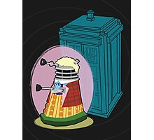 Daleks in Disguise - Sixth Doctor Photographic Print