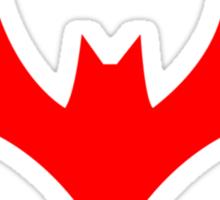 Batman Beyond Logo Sticker
