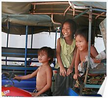 Khmer Children Poster