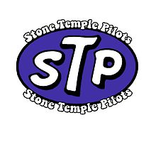 Stone Temple Pilots Logo T-Shirt by JustinWarrender
