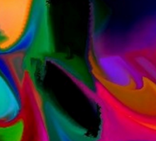 Vibrant -Available As Art Prints-Mugs,Cases,Duvets,T Shirts,Stickers,etc Sticker