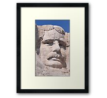 Theodore Roosevelt, Mount Rushmore National Memorial  Framed Print