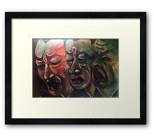 Mourning Framed Print