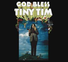 God Bless Tiny Tim One Piece - Short Sleeve