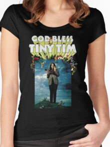 God Bless Tiny Tim Women's Fitted Scoop T-Shirt