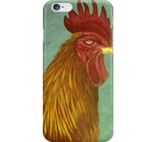 Rooster portrait iPhone Case/Skin