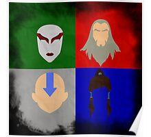 Minimalist Avatar Poster Poster