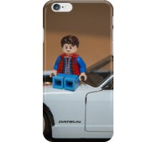 Doc and Marty on a Z iPhone Case/Skin