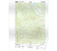 Maine USGS Historical Map Brownfield 20110906 TM Poster