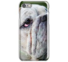 english bulldog taken central victoria goldfields iPhone Case/Skin