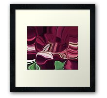 Burgundy -Available As Art Prints-Mugs,Cases,Duvets,T Shirts,Stickers,etc Framed Print