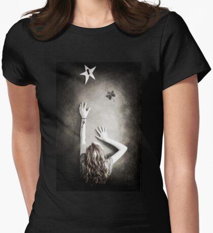 Wish Away Shirt Womens Fitted T-Shirt