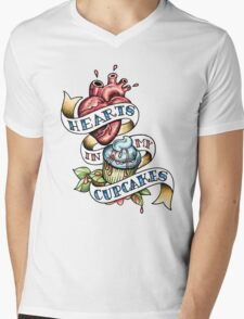 Hearts In My Cupcakes T-Shirt