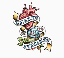 Hearts In My Cupcakes Mens V-Neck T-Shirt