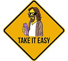 Take it easy Dude! Photographic Print