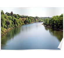 The American River Poster