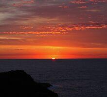 Sunrise in Kiama by Evita