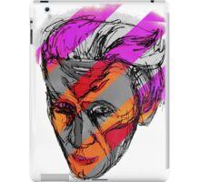 Mixed Media Self Portrait iPad Case/Skin
