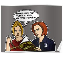 Scully Me. Poster