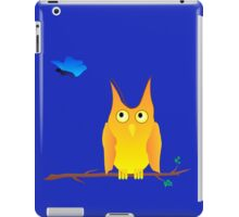 Owl and Butterfly iPad Case/Skin