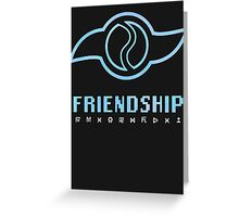 Digimon Crest of Friendship Greeting Card