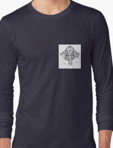 Yoga Elephant Long Sleeve T-Shirt