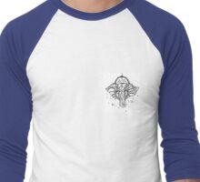 Yoga Elephant Men's Baseball ¾ T-Shirt
