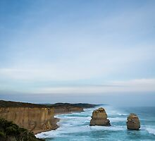 Twelve Apostles in Blue by Michelle McConnell