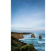 Twelve Apostles in Blue Photographic Print