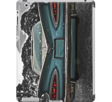 Chevrolet Impala at Sunset, Foxfield Oval iPad Case/Skin