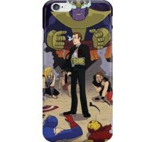 Agent Coulson with the Infinity Gauntlet iPhone Case/Skin