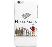 Game of thrones House Stark and Tony Stark iPhone Case/Skin