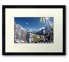 Thokla Pass 4830m Framed Print