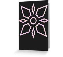 Digimon Crest of Light Greeting Card