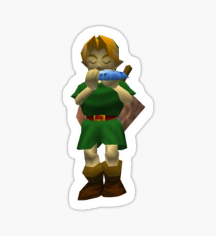 Link from Ocarina of Time Sticker