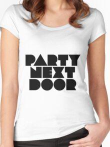 PARTYNEXTDOOR Black Women's Fitted Scoop T-Shirt