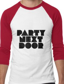 PARTYNEXTDOOR Black Men's Baseball ¾ T-Shirt