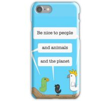 Birds of Wisdom #1 iPhone Case/Skin