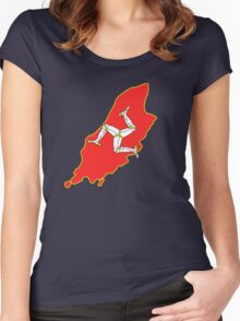 Isle Of Man Women's Fitted Scoop T-Shirt