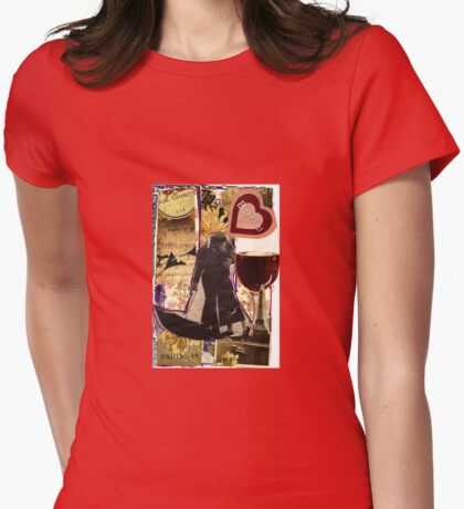 L' Amour A Paris Womens Fitted T-Shirt
