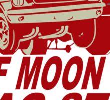 Half Moon Bay Drag Strip Sticker