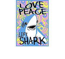 Left Shark Happy Hippie Superbowl Photographic Print