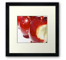 Toffee Apples Framed Print